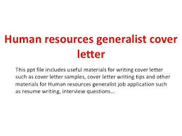 Cover Letter For Hr Job Cover Letters For Hr Jobs Human Resources