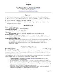 aspnet mvc resume senior asp net mvc developer resume
