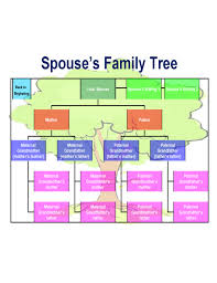Sample Of Family Tree Chart Best Family Tree Chart Template Free Download