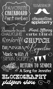 chalkboard fonts free favorite free chalkboard font combos yellowblissroad com