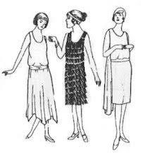 1920s Dress Patterns Amazing 48's Dresses Pattern Rocking Horse Farm 48 Buy Online In UAE