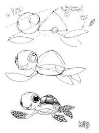Small Picture Draw Squirt the Sea Turtle from Disnqey Pixars Finding Nemo by