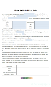 bill of sales template bill of sales template
