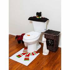 Christmas Bath Linens Imperial Home Christmas Snowman Bathroom 4 ...