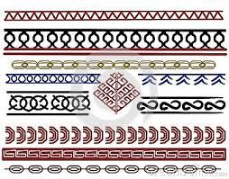 Viking Patterns Mesmerizing Set Of Viking Border Designs