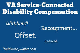 Va Disability Percentage Chart 2015 Withhold Va Disability Compensation Recoupment Offset