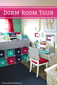 dorm room goals put the furniture that comes with the dorms under the bed and