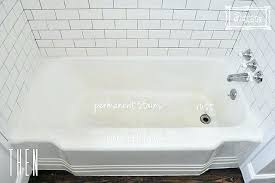 rust stains in bathtub how to get rust stains out of bathtub bathtub refinishing clean rust