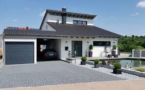 Einfamilienhaus Modern Holzhaus Versetztes Pultdach Modern Fenster