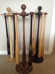 Baseball Bat Display Stand Best 32 Bat Pedestal DisplayI Floor Display Village Wood Shoppe