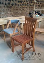 design of teak minimalist and retro dining chair for cafe and restaurant project by jepara goods