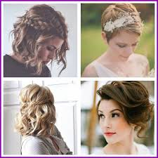 Coiffure Sur Cheveux Court Pour Mariage 208181 Coiffure