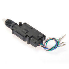 wiring in car accessories car auto heavy duty power driver door lock locking actuator motor 5 wire dc 12v