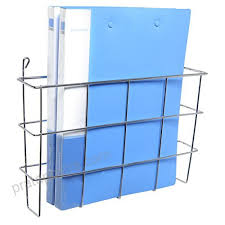 Newspaper rack for office Stainless Steel Modern Wall Mounted Silver Metal Magazine Storage Basket Hanging Office File Document Holder Newspaper My Site Ruleoflawsrilankaorg Is Great Content Modern Wall Mounted Silver Metal Magazine Storage Basket Hanging
