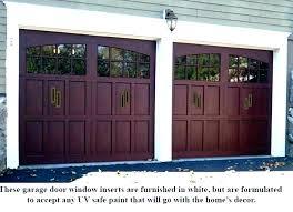 garage door replacement window panels inserts replacements glass doors cost residential s