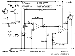 alarms and security related electronic circuit diagrams circuit infrared proiximity detector using a ca3240