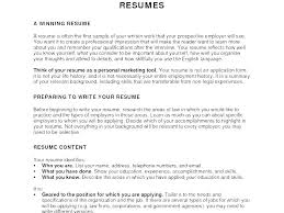Best Objective On Resume Good Objectives In A Resume Objectives Of A