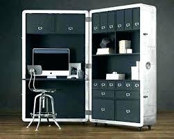 hidden desk furniture. Hidden Desk Furniture Home Office Computer Desktop .