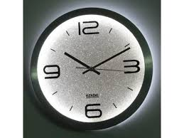 room lighted wall clock wc3012