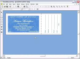 Create Tickets In Word Start Creating Template In Word Tickets With Numbering How