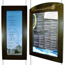 Menu Display Stands Restaurant Fascinating Sublime Outdoor Display Cases Outdoor Menu Display Stands Window