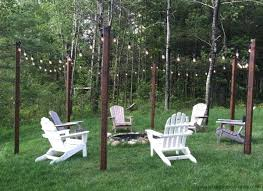 outdoor string lights ideas patio string lighting ideas affordable feat easy outdoor string lighting posts around outdoor string lights