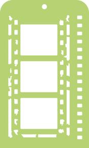Kaisercraft Mini Designer Template Film Strip
