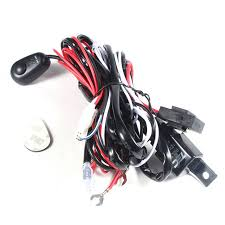 online buy whole fog light harness from fog light universal car fog light wiring loom harness kit bar fuse and relay switch