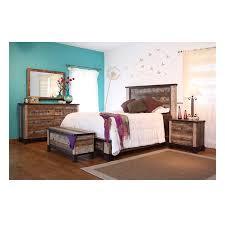 Bed Queen IFD966BEDROOM 966 ANTIQUE International Furniture Direct