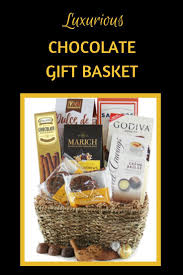this chocolate gift basket has it all mouthwatering truffles chocolates crunchy cookies