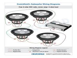 crutchfield wiring diagram wiring diagram shrutiradio how to bridge a 4 channel amp to 1 sub at Amp Wiring Diagram Crutchfield