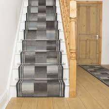graphite stair runner rug ikat free delivery plus a no quibble 30 day returns policy