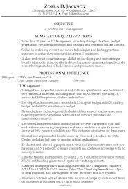 Summary Sample Resume Resume Synopsis Example Resume Personal Statements Resume Synopsis