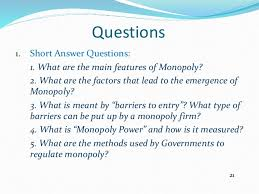 should the government regulate monopoly essay assignment  should government regulate monopolies