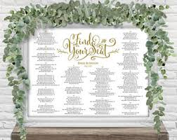 Wedding Seating Chart Pros And Cons Adagio