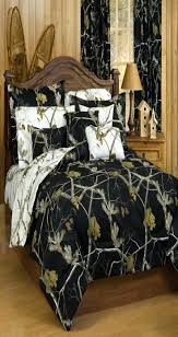 realtree camo comforter set bedding collection in black teal blue