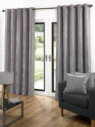 Living Room Ready Made Curtains Living Room Velvet Ready Made Eyelet Curtains Grey With Velvet