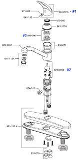 kitchen faucet repair: price pfister single control kitchen faucet repair parts