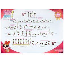 Pow Wall Chart Packs Of 8