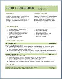 Download Free Professional Resume Templates Resume Corner