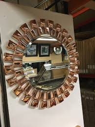 rose gold wall mirror rose gold links round wall mirror rose gold wall mirror uk manchester