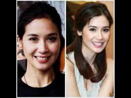 indonesian celebrities with without make up