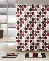 gray and brown shower curtain. 3 piece bath rug set w/ shower curtain and matching rings (grey/black gray brown