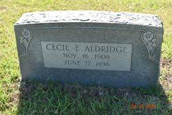 Cecil Aldridge (1909-1936) - Find A Grave Memorial