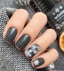 20 winter snowflakes nail art designs