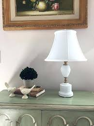 striking glass lamp shades floor lamps lovely hobnail milk glass lamp found in antique now