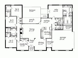 incredible 5 bedroom house design floor plan single story five tudor dream home regarding modern for 1 south africa with bonus room