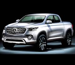 You can take a look on the gle coupe and you can see similar or the same styling cues. Mercedes Benz To Release Pickup Truck By 2020