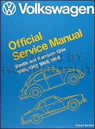 volkswagen beetle and karmann ghia service manual type 1 1966 volkswagen beetle and karmann