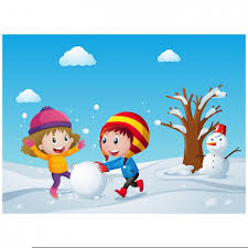 Free Clipart Children Playing Snow | Free Images at Clker.com - vector clip  art online, royalty free & public domain